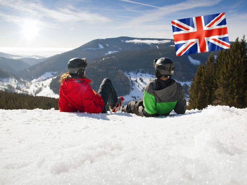 Ados en colonie de vacances à la montagne pour apprendre l'anglais