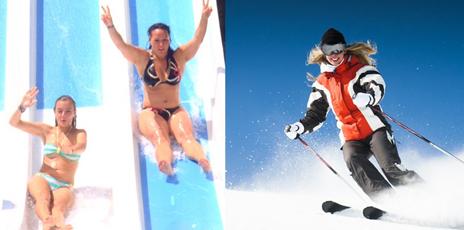 Sun, Ski & Relax, what else ?