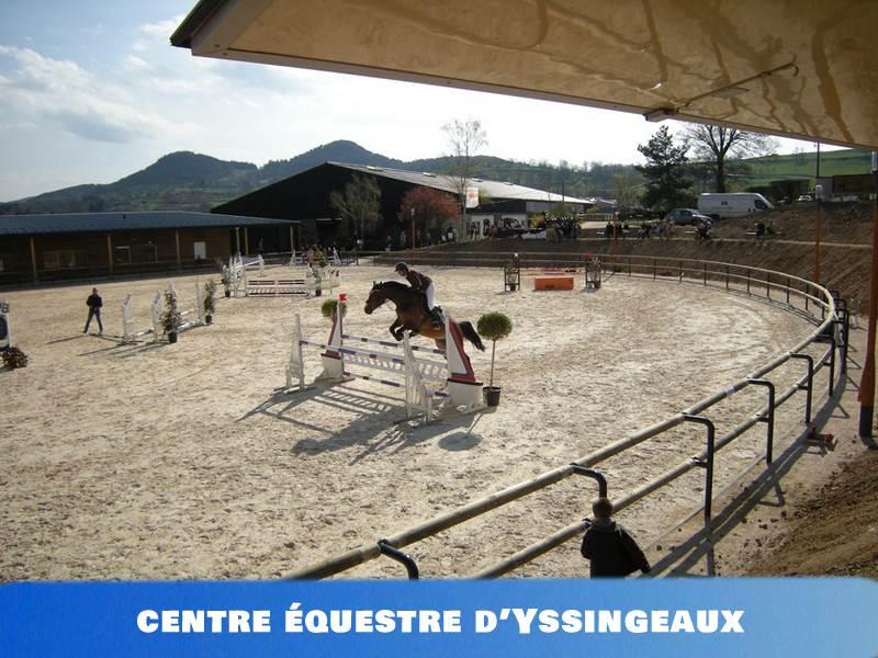 Centre équestre d'Yssingeaux pour les colonies de vacances
