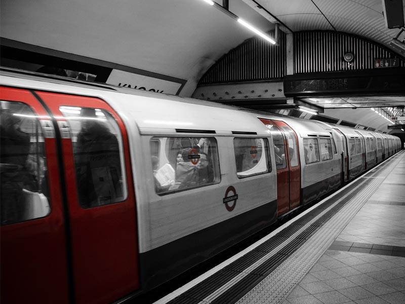 Subway, métro londonien