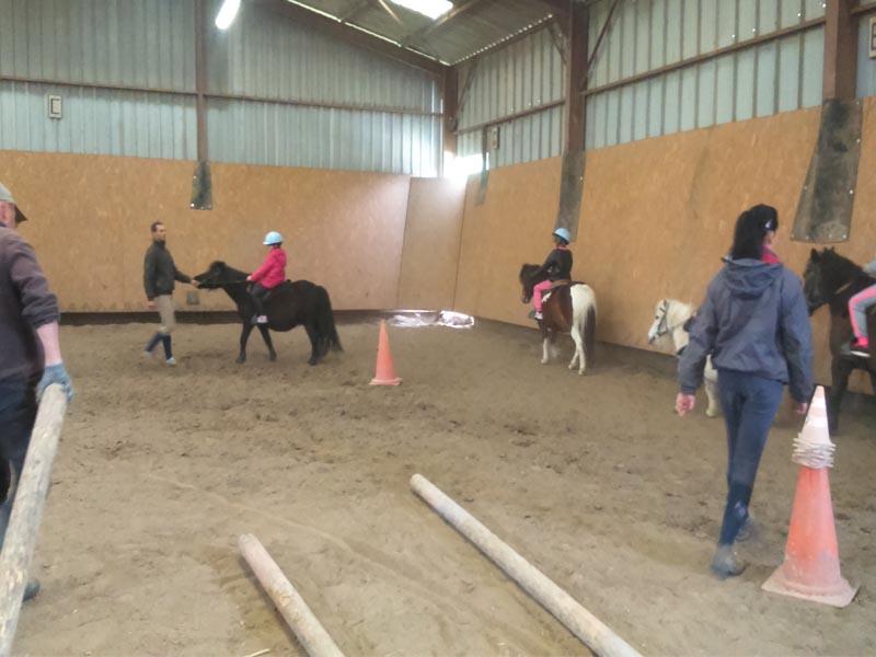Colonie de vacances enfants équitation