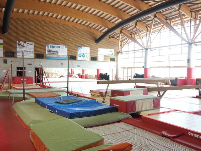 Gymnase du centre de colonies de vacances et stages sportifs Yssingeaux