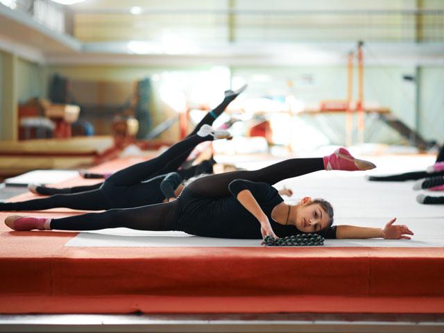 Initiation à la gymnastique pour enfants