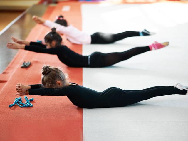 Exercices de gymnastique pour enfants