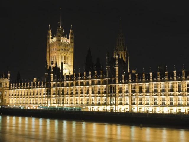 Vue de nuit sur Londres
