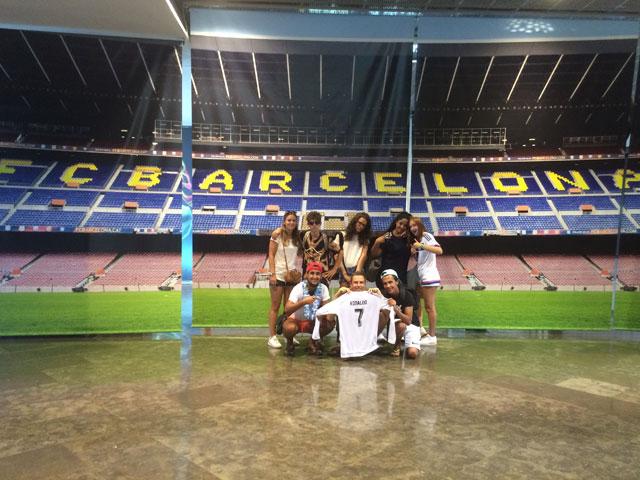 Stade de camp nou à Barcelone