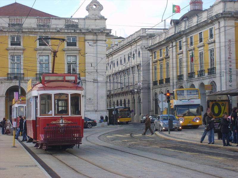 Funiculaire de Porto au Portugal