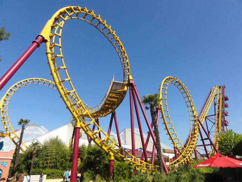Parc d'attraction en Belgique en colonie de vacances
