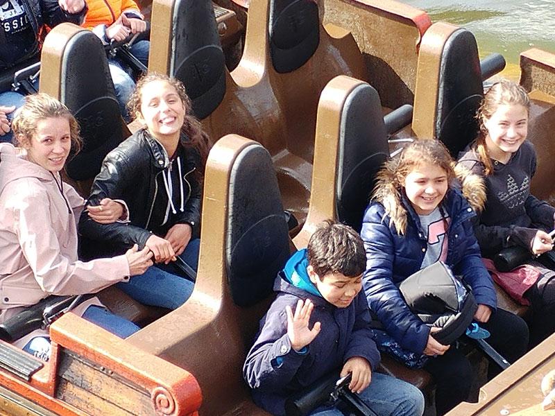 Parc d'attraction en colonie de vacances en Belgique