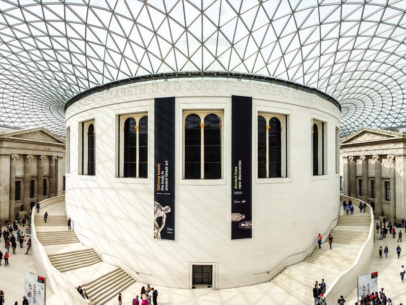 British museum à Londres en colonie de vacances pour ados