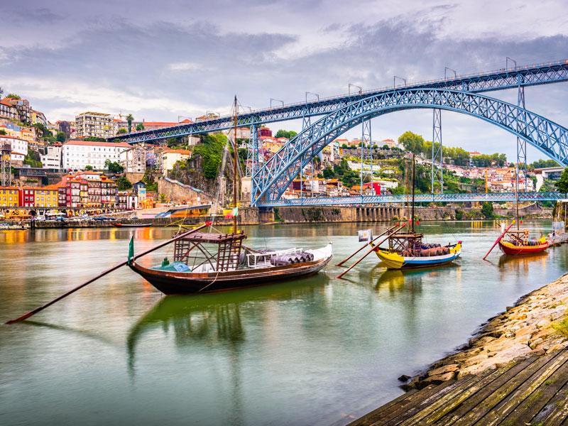 Paysages de Porto en colonie de vacances au Portugal