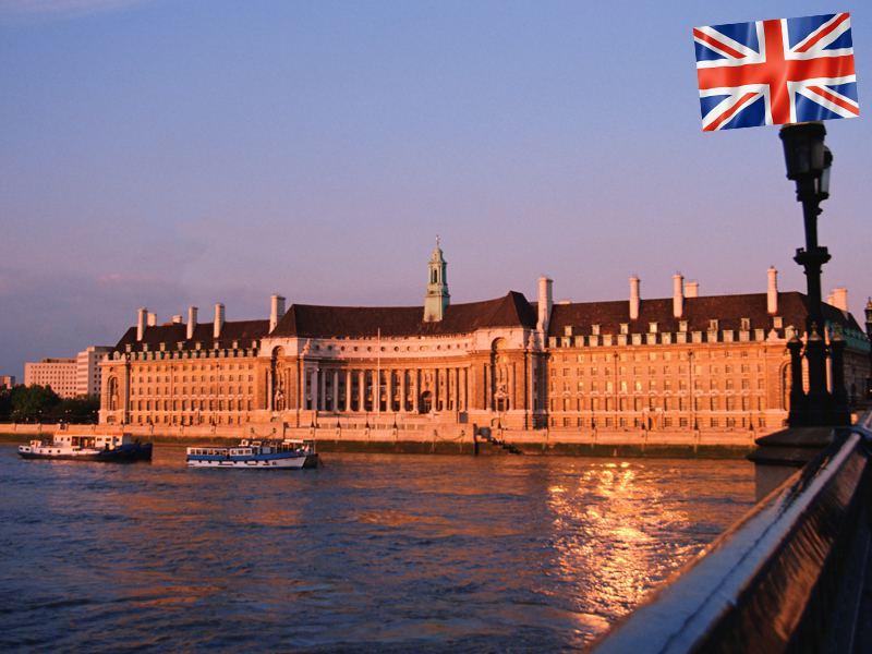 Vue sur Londres en colonie de vacance pour ados à la Toussaint