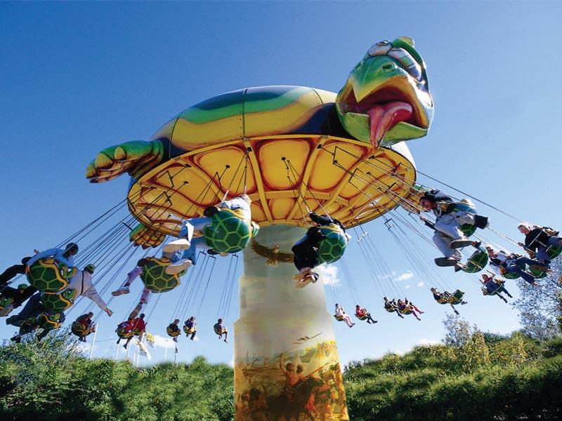 Visiter le parc d'attraction ok corral