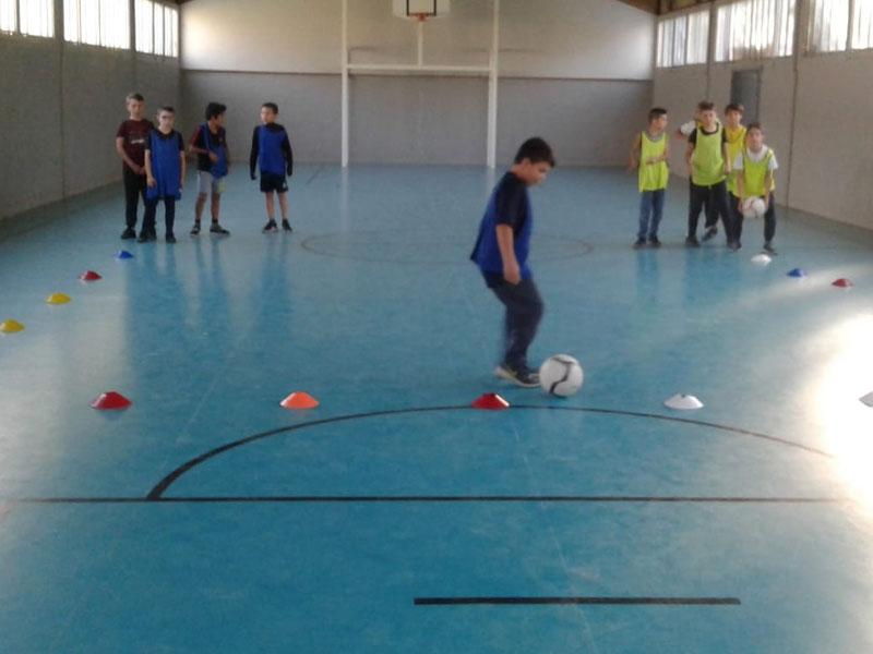 Football en intérieur pour enfants