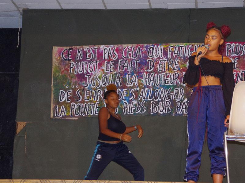 Danse et chant en colonie de vacances