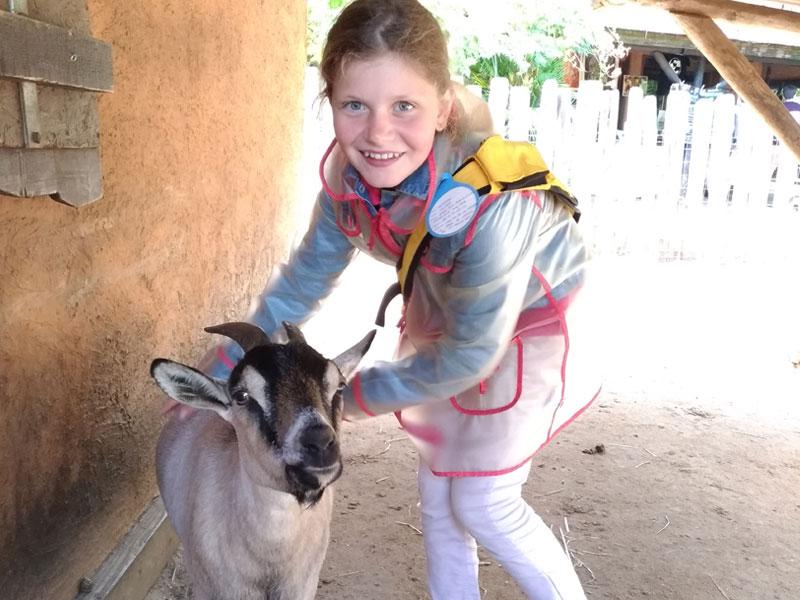 Apprendre à s'occuper des animaux de la ferme