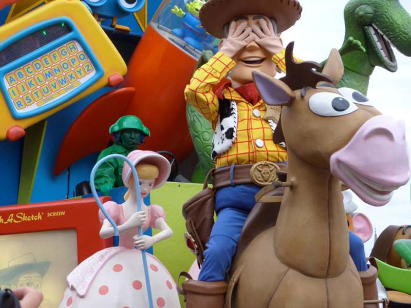 Toy Story à Disneyland en colonie de vacances