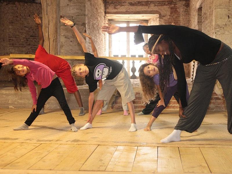 Danse pour enfants et ados en colonie de vacances