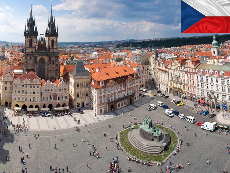 Prague vu du ciel en colonie de vacances pour ados