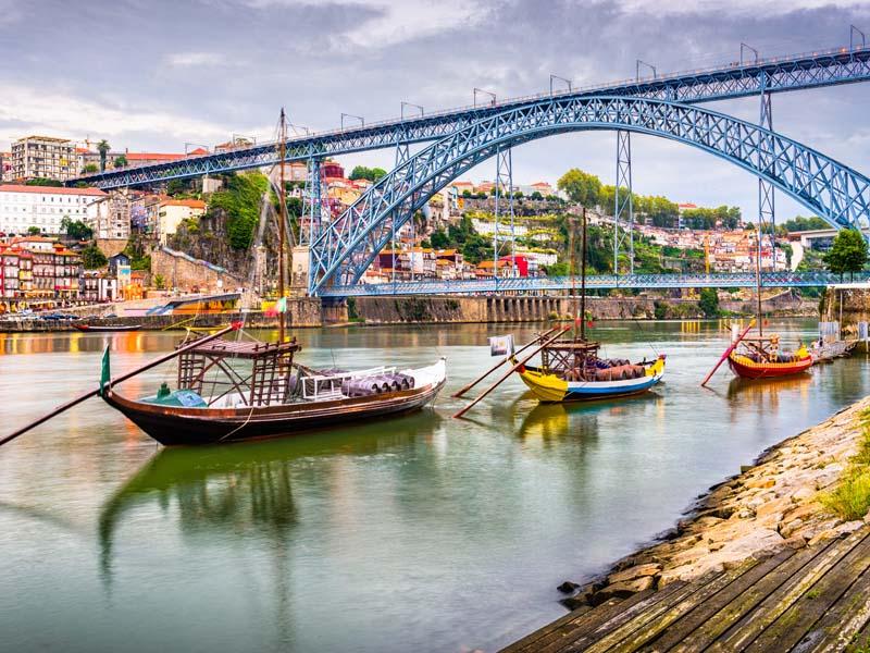 Paysage du Douro en colo au portugal cet automne