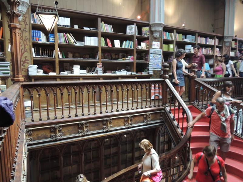 Librairie lello au portugal