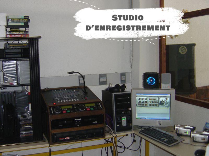 Studio d'enregistrement cinéma en colo