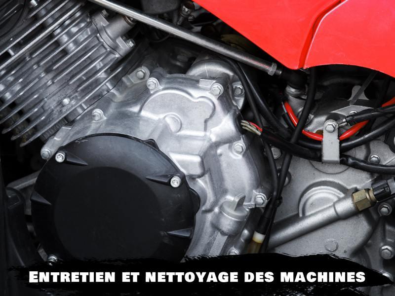 Photo de la mécanique d'une moto