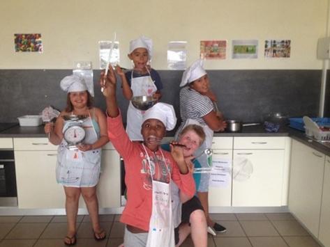 Colonie de vacances cuisine Toussaint