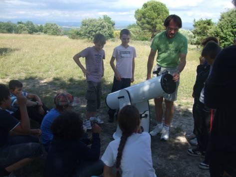 Classe de découvertes astronomie