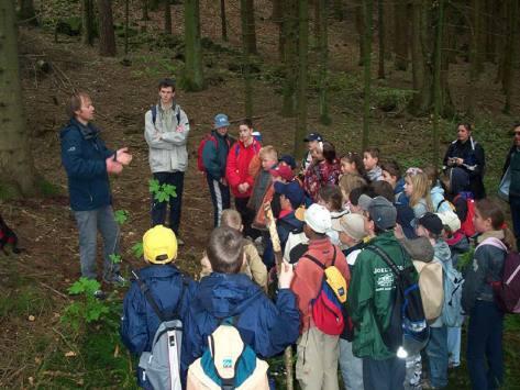 Sortie scolaire en milieu naturel