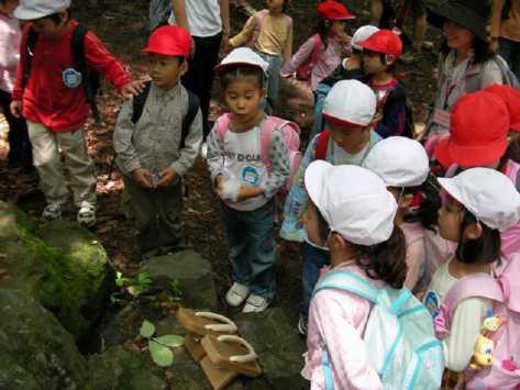 enfants en classe de découverte