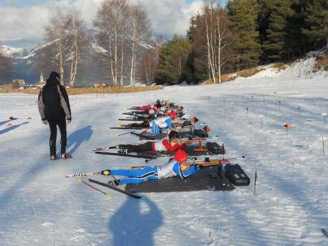 séjour scolaire biathlon Plans d'Hotonnes