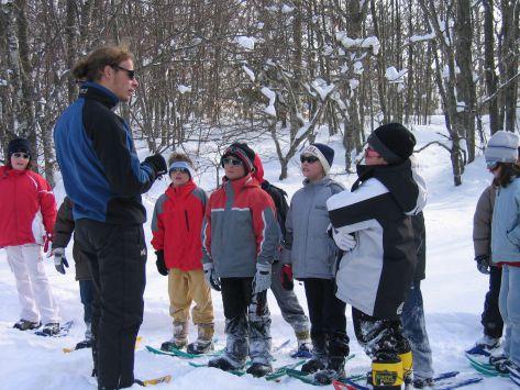 classe découverte biathlon et neige