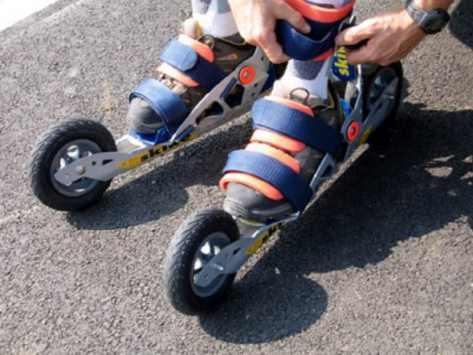 Classe roller et biathlon