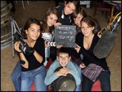 classe enfants cinéma