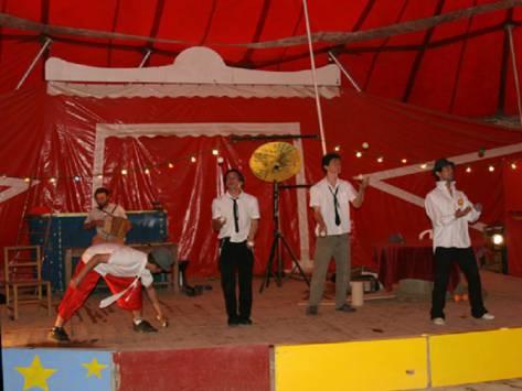 les arts du Cirque en classe découverte