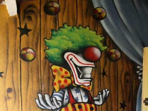 Cirque et clown en classe découverte