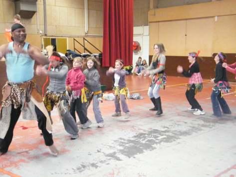Stage danse africaine pour enfant