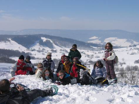 voyage scolaire a la montagne