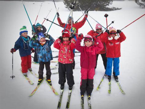 séjour enfants au ski de fond