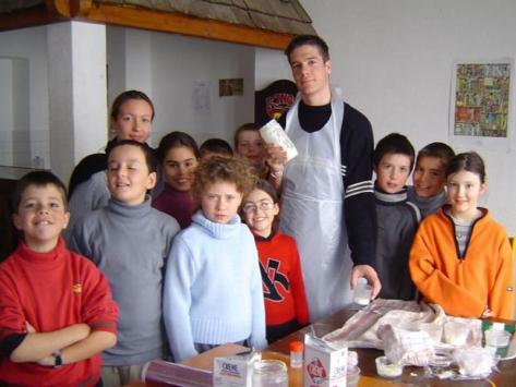 Classe découverte recettes de cuisine
