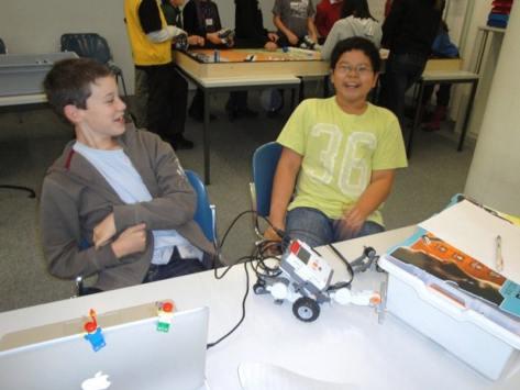Classe découvertes robotique