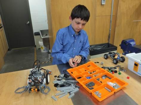 Classe de découvertes robotique