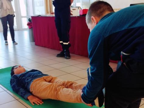 Initiation aux premiers secours sortie scolaire