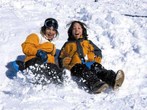 sortie scolaire ski a Courchevel