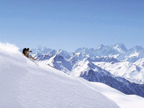ski et neige a Courchevel