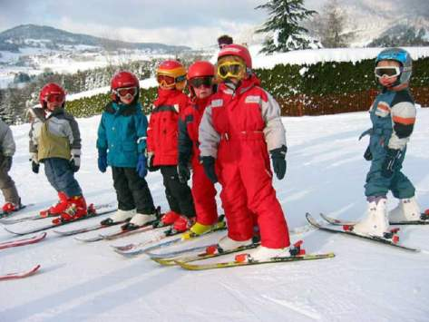 classe découverte ski alpin