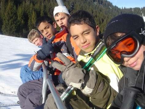 séjour découverte adolescents ski