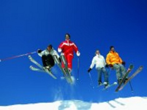ski a Courchevel