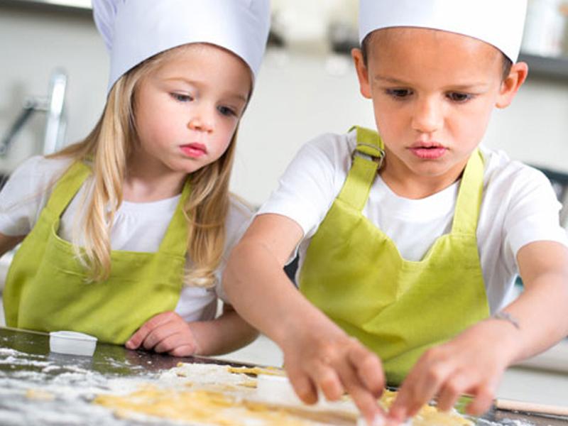 Colonies de vacances cuisine pour enfants